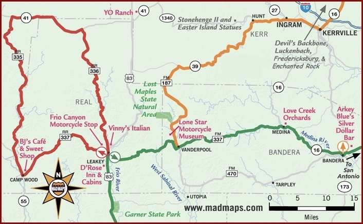 Three Sisters Texas Map | Business Ideas 2013